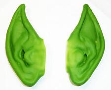 Green Pixie Ears Goblin Spock Fancy Dress Accessory