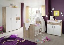 Kinderzimmer Baby-Plus Clara Groß 3 Teile Babyzimmer Komplettkinderzimmer Neu