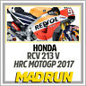 Kit Adesivi Honda RCV 213V Team Repsol HRC MotoGP 2017 - Light Version