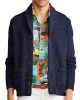Polo Ralph Lauren Men's Regular-Fit Shawl-Collar Cotton Sweater - Size S