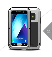 LOVE MEI Gorilla Glass Aluminum Metal Case Cover For Samsung Galaxy A3 A5 2017