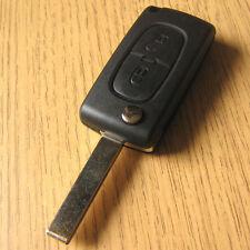 2 Button Flip Key Remote FOB Case PEUGEOT EXPERT FIAT SCUDO CITROEN JUMPY VAN