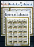 Liechtenstein Kleinbogen MiNr. 821-23 Ersttagssonderstempel Landschaft (10821