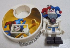 2011 The Lego Group  Talking KeyRing Joker Hat / samurai noises  Figurine