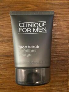 Clinique For Men Face Scrub 100ml Sealed + FREEGIFT and FREEPOST