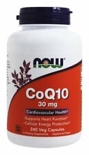 CoQ10 Cardiovascular Health 30mg 240 Vcaps Now Foods
