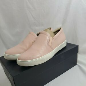 Naturalizer Women's Shoes Marianne Leather Closed Toe, Pink Perf, Size 8.5