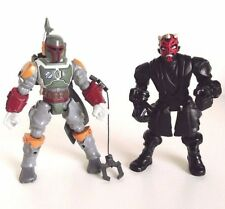 Star Wars Mashers Action Figures Darth Maul And Boba Fett Set