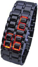 Samurai Inferno Watch Gadgets and Gears Faceless LED