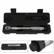 Chiave dinamometrica da 1/4 di pollice 5-25 NM Professional Torque + Ratchet Box
