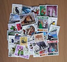 40 all different used Zambia postage stamps