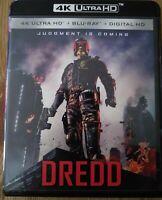 DREDD  ( 4K ULTRA HD 3D/BLU RAY 2- Disc- Set NO DIGITAL )