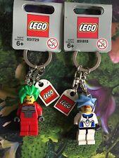 Lego Exoforce Takeshi Hikaru Keychain Rare BNWT