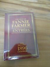 Lot 2 THE BEST OF FANNIE FARMER Cookbook 1896 Entrees Desserts 2018 Edition