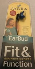 JABRA EARBUD EARPHONE HEADSET Microphone and Ear Gels Set New