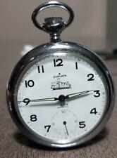 orologio  da tasca ferrovie turche cal.parrenin ZARVATH uomo vintage