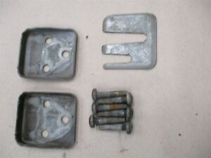 Door Hinge Bolts and Shim Jeep Cherokee XJ Sport 1984-2001 OEM Torx Head