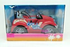 VINTAGE 2004 BARBIE CALI GIRL BEACH CONVERTIBLE CAR #G8673 SEALED NRFB