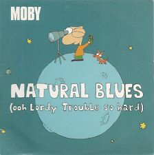 CD SINGLE 3 TITRES--MOBY--NATURAL BLUES--2000