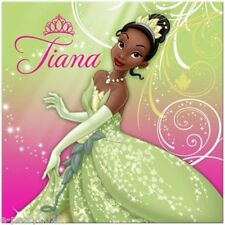 Princess And The Frog Sparkle Lunch Napkins (16) ~ Birthday Party Supplies Large