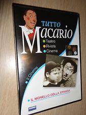 DVD TUTTO MACARIO IL CINEMA IL MONELLO DELLA STRADA