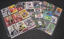 Lot Of 30 NFL Cards Topps From Year 2005, 2007, 2008, 2012, Brett Favre, Ty Law