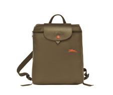 ON HAND Authentic Longchamp Le Pliage Club Backpack Khaki