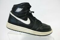 NIKE Air Jordan 1 I Retro Yin Yang Black Sz 7Y Kids Basketball Sneakers