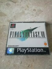 Final Fantasy VII 7 for the PlayStation One - Black Label - Complete with Manual