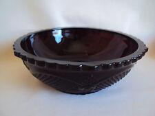 "Vintage Avon Centennial Edition 1886-1986 Cape Cod Ruby Red Glass Bowl 9"" Big"