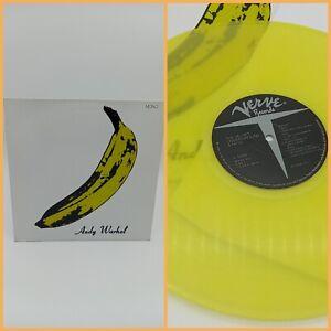 The Velvet Underground Andy Warhol Yellow Vinyl Record
