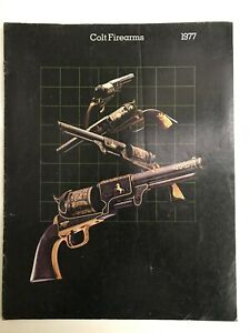 1977  COLT FIREARMS GUN CATALOG- ORIG VIN