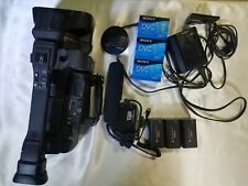 Canon Xh A1 Mini Dv Camcorder-High Definition 1080i with Xm-40 Professional Mic