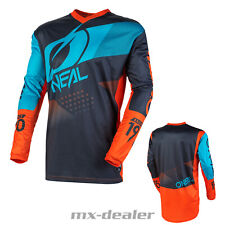 2021 O'Neal Element Factor Orange Jersey Trikot MX Motocross MTB Enduro Quad
