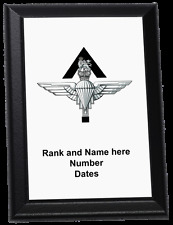 Personalised Wall Plaque - The Parachute Regiment, Pathfinder