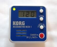 KORG MCM-1 MICROMETRO DIGITAL COMPACT CLIP-ON METRONOME FOR PERFECT RHYTHM-NEW!