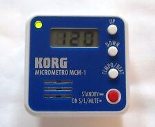 KORG MCM-1 MICROMETRO DIGITAL COMPACT CLIP-ON METRONOME FOR PERFECT RHYTHM-NEW!