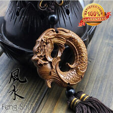 Brand New Natural Rosewood-FengShui B Dragon Lucky Amass Fortunes Collection