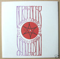 NORMANOAK A Double Gift Of Tongues US vinyl LP screenprinted slv UNPLAYED