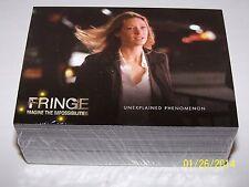 2012 Cryptozoic FRINGE Trading Card Base Set (72 Cards) NM