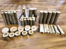 Mr. Bennett's Tree Blocks w/Bark 42 Piece Real Wood Building Block Set