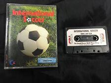 * Commodore 64 RARE Game * INTERNATIONAL SOCCER * C64