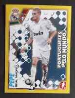 PEPE / REAL MADRID Panini sticker 2011/12 FOIL