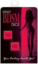 Kinky BDSM Dice - Couples Romantic Bedroom Game