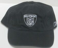 NFL Equipment Black Relaxed Fit Adjustable Dad Hat By Reebok