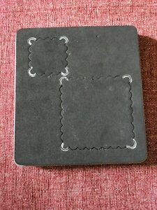Stampin Up Sizzix Bigz Scallop Squares Duo | S