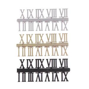 1 set Roman numeral DIY Digital Replacement Gadget Repair Clock PartsB^BI