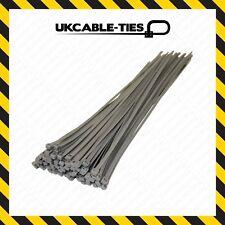 "4.8mm x 380mm wheel trims 30pc Cable Ties Grey Cable Tie Wraps Zip Ties 15/"""