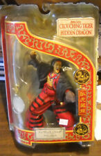 CROUCHING TIGER HIDDEN DRAGON LO DARK CLOUD WITH SWORD FIGURE NIB