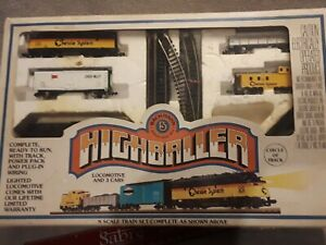 Bachmann Highballer N Scale Electric Train Starter Set